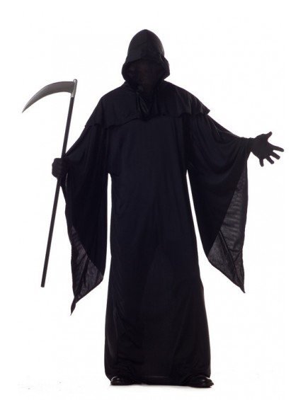 Black Hooded Horror Costume