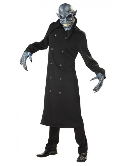Night Fiend Costume With Auto-Motion Mask