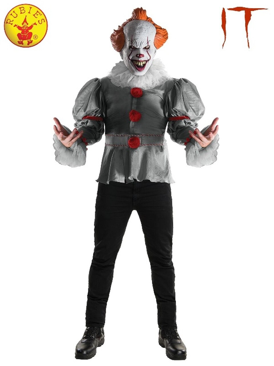 Pennywise IT 2017 Movie Mens Costume