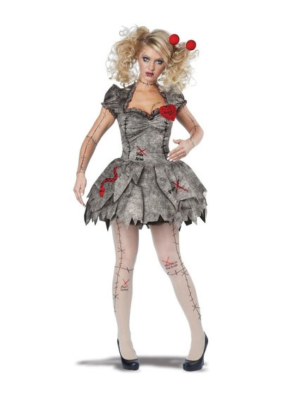 Voodoo Dolly Halloween Costume