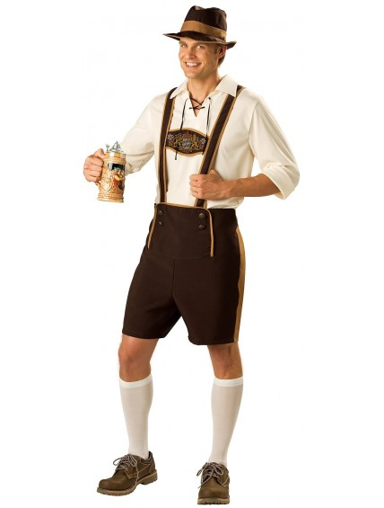 Bavarian Guy Oktoberfest Mens Costume