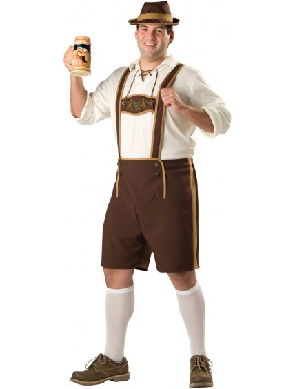 Bavarian Guy Oktoberfest Plus Size Costume
