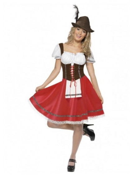 Bavarian Wench Oktoberfest Costume