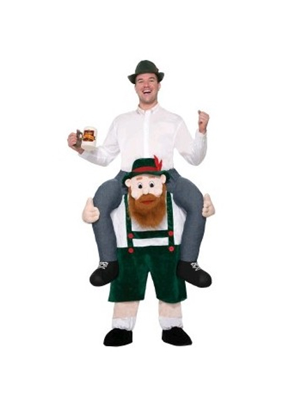 Beer Buddy Carry Me Costume