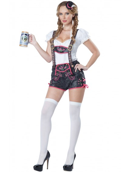 Flirty Lederhosen Womens Costume