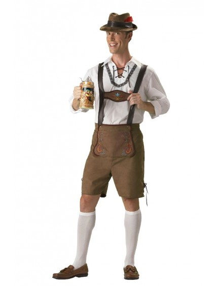 Oktoberfest Guy Mens Bavarian Elite Costume