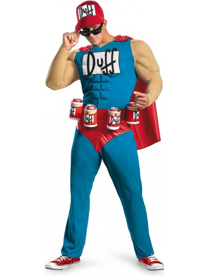 The Simpsons Duffman Mens Costume
