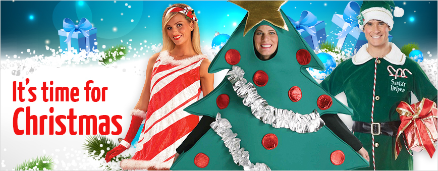 Get ready for Christmas at Doyles Fancy Costumes Wangara
