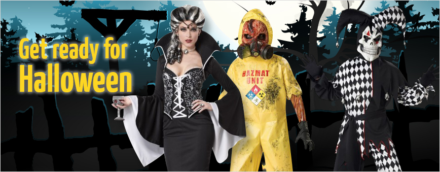 Get ready for Halloween at Doyles Fancy Costumes Wangara