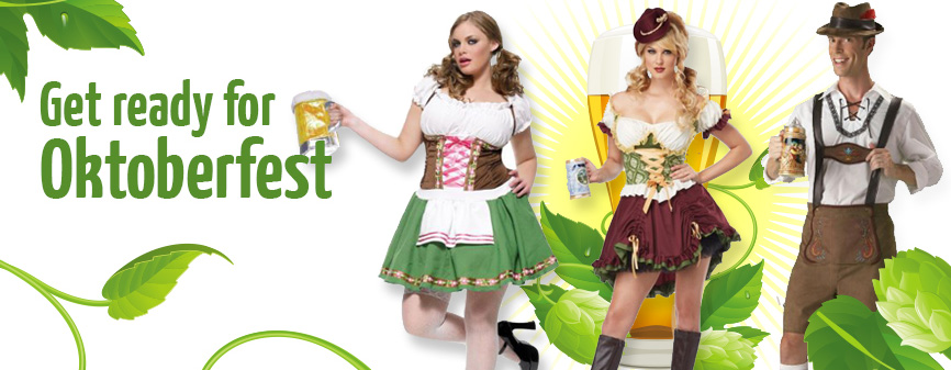 Get ready for Oktoberfest at Doyles Fancy Costumes Wangara